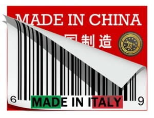 Tarocco Made in Italy in China