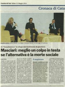 Gazzetta del Sud - 31 mag 2014