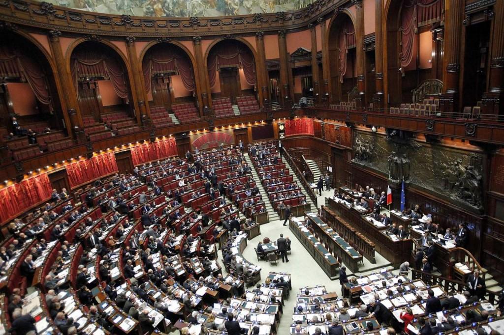 FOTO DI REPERTORIO©LAPRESSE03-01-12 ItaliaParlamento, stipendi più alti d'Europa